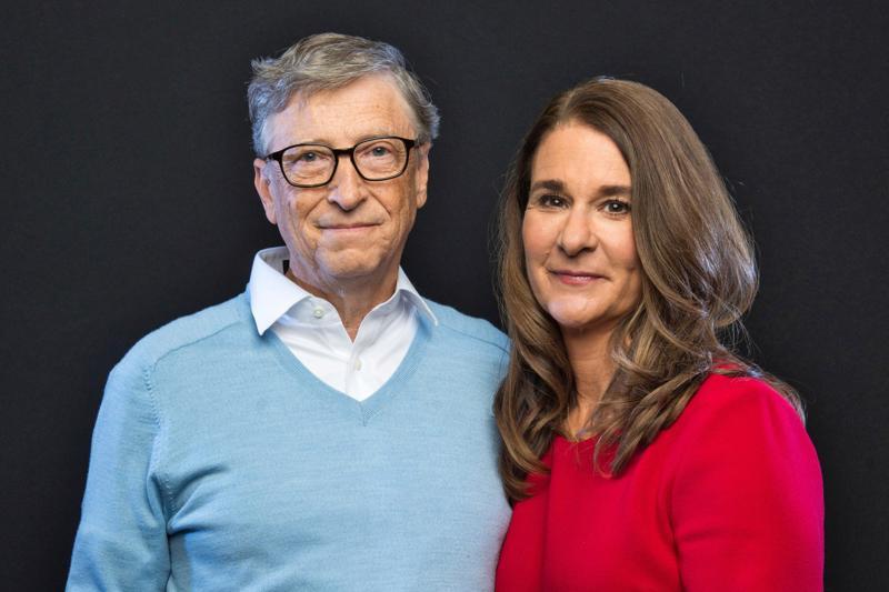 Ông Bill Gates và vợ Melinda Gates - Ảnh: Getty Images