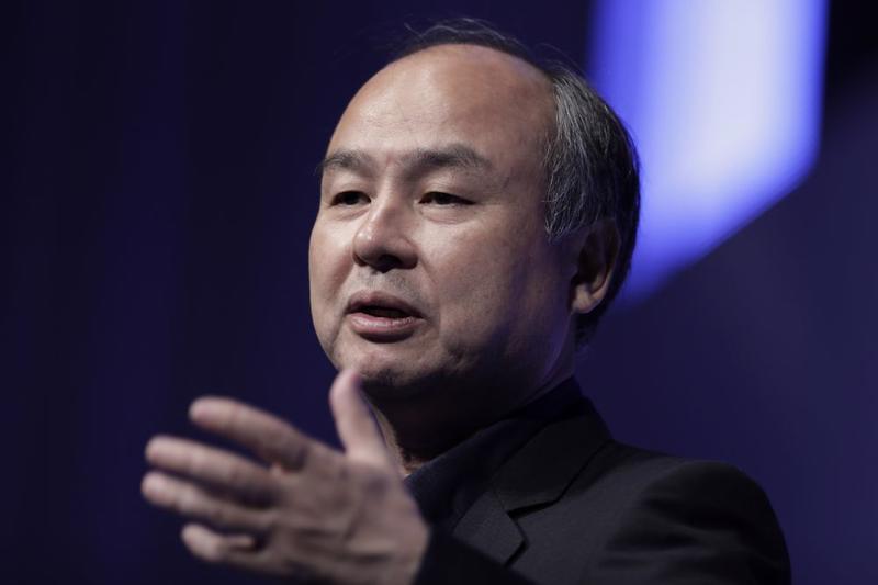 Tỷ phú Nhật Bản Masayoshi Son - Ảnh: Bloomberg.