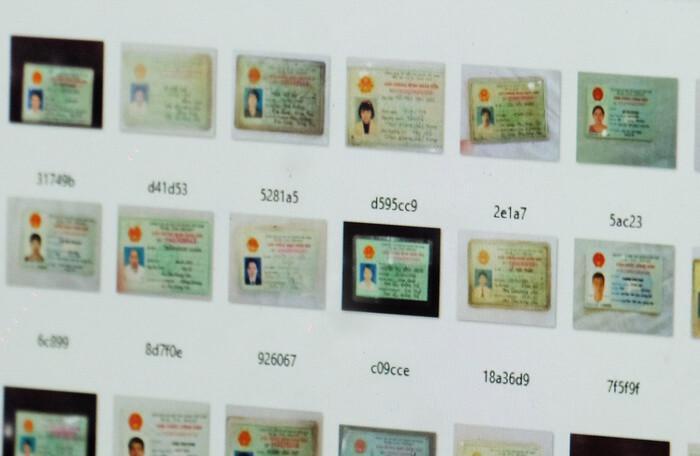 Nhiều thông tin, hình ảnh mặt trước mặt sau của CMND đang được rao bán.