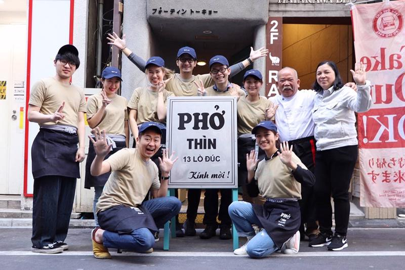 Hơn 100 bát phở được bán đi và trong vòng chưa đầy 1 giờ đồng hồ trong ngày khai trương tại Tokyo.