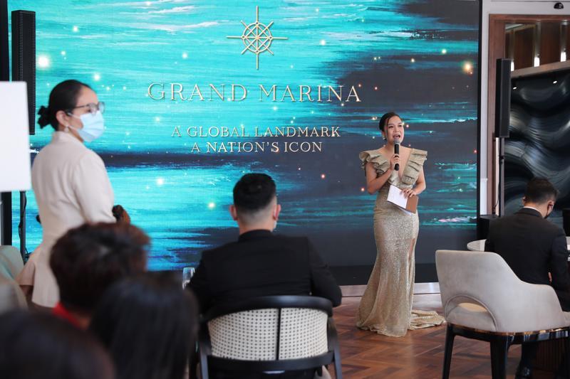 Các căn hộ tại Grand Marina đã tự tin đưa ra mức giá bán kỷ lục khi ra mắt tại Việt Nam.