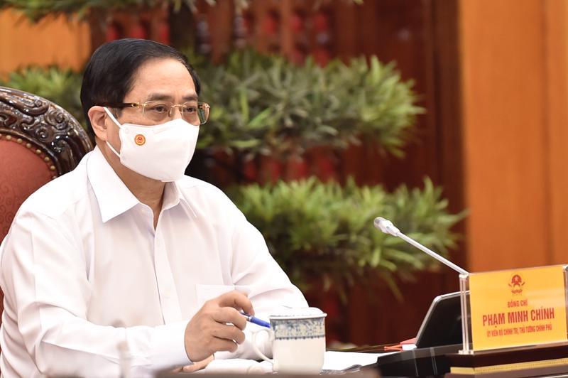 Thủ tướng Phạm Minh Chính chủ trì cuộc họp chiều 17/5 - Ảnh: VGP.