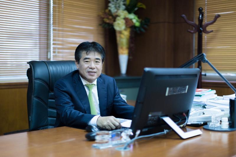 Ông Nguyễn Mạnh Tuấn, Phó chủ tịch HĐQT Công ty CP Tập đoàn Hoà Phát.
