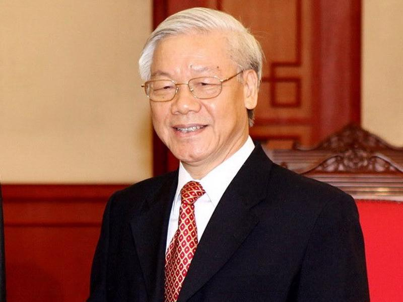 Giáo sư, Tiến sỹ Nguyễn Phú Trọng, Tổng Bí thư Ban Chấp hành Trung ương Đảng Cộng sản Việt Nam. (Ảnh: TTXVN).