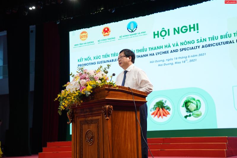 Chủ tịch Nguyễn Dương Thái phát biểu khai mạc Hội nghị ngày 18/5.