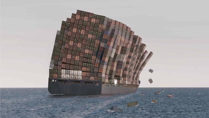 Ngành vận tải biển rơi vào cuộc khủng hoảng nghiêm trọng do thiếu container, tắc nghẽn và quá tải - Ảnh: AP.