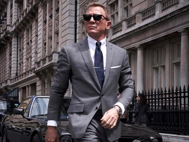 """Diễn viên Daniel Craig trong phần phim """"No Time to Die"""" trong loạt phim bom tấn James Bond của hãng MGM - Ảnh: MGM."""
