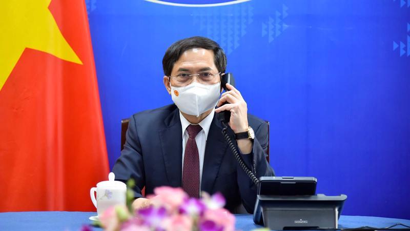 Bộ trưởng Ngoại giao Bùi Thanh Sơn - Ảnh: Bộ Ngoại giao.