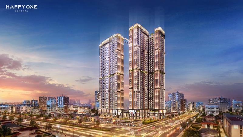 Khu phức hợp căn hộ thông minh trung tâm thành phố Thủ Dầu Một Happy One - Central.
