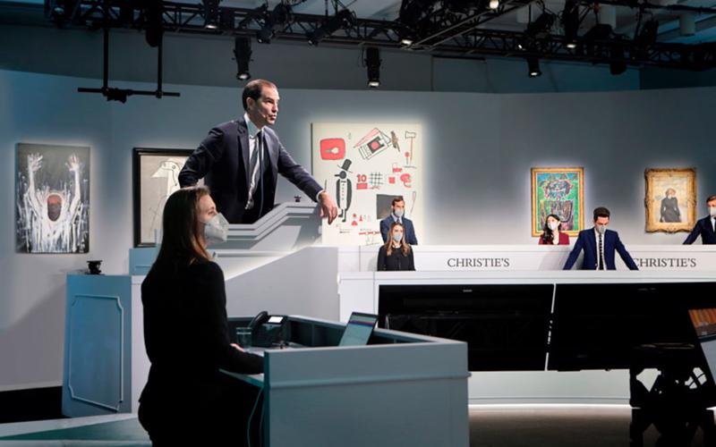 """Trong những phiên đấu giá mới diễn ra gần đây tại nhà đấu giá Christie's Hong Kong, tranh Việt lại tiếp tục """"lên ngôi""""."""