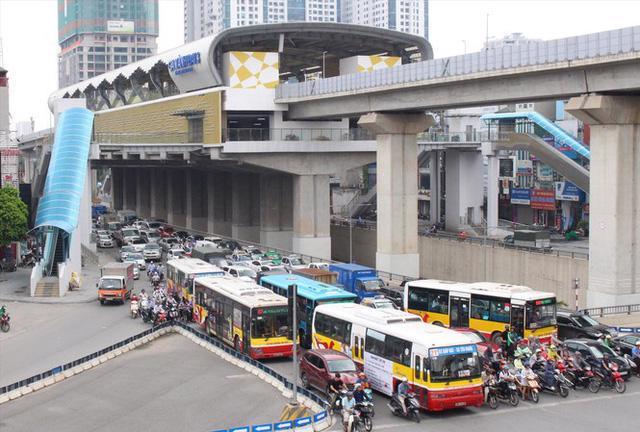 Tăng cường kết nối xe buýt tất cả ga đường sắt trên cao