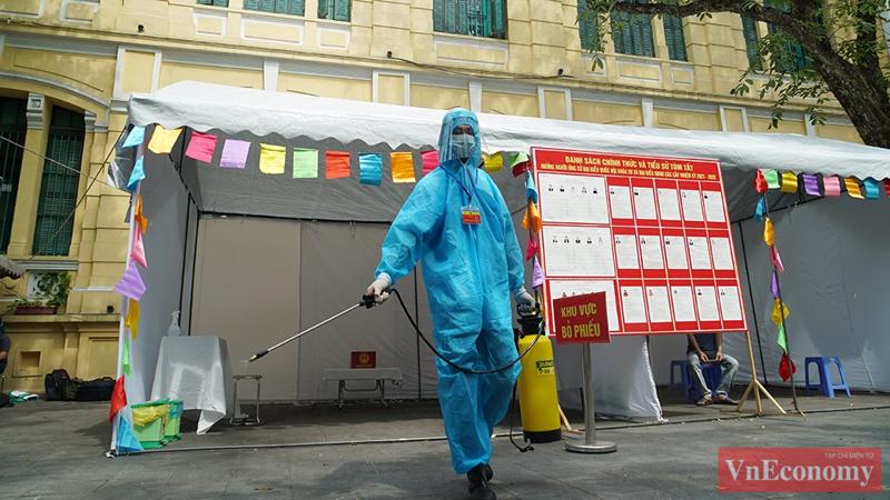 Hà Nội đã bảo đảm mọi điều kiện sẵn sàng cho cuộc bầu cử.