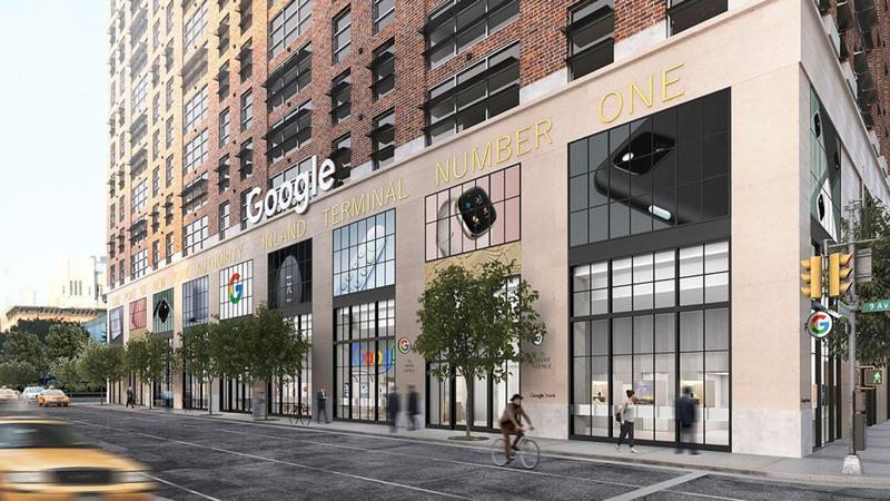Cửa hàng Google Store tại khu Chelsea, New York, Mỹ - Ảnh: Google.