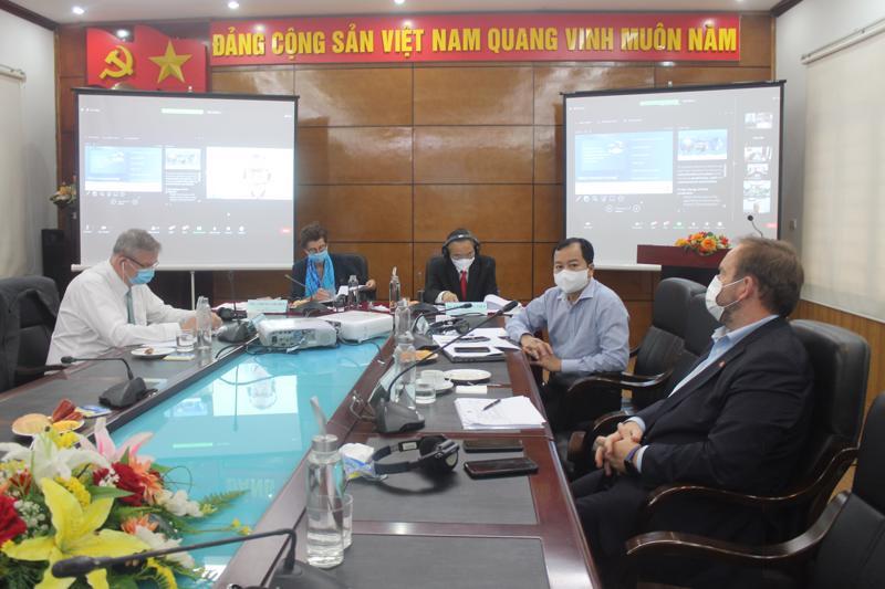 Diễn đàn trực tuyến Pphát triển ngành nuôi biển quy mô công nghiệp của Việt Nam.
