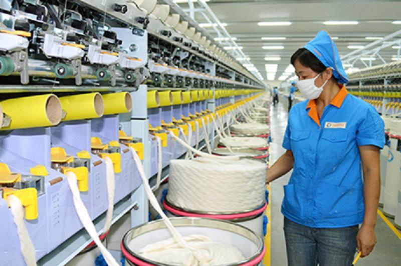 Sản phẩm bị cáo buộc bán phá giá là sợi kéo dãn toàn phần (polyester flat yarn).