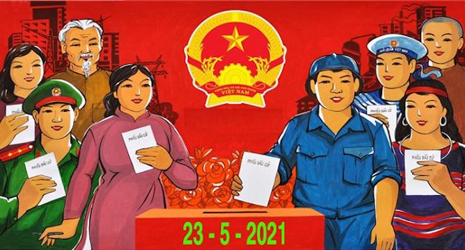 Ngày 23/5, toàn dân đi bầu cử đại biểu Quốc hội và đại biểu Hội đồng nhân dân các cấp nhiệm kỳ 2021-2026 - Ảnh: Quochoi.vn