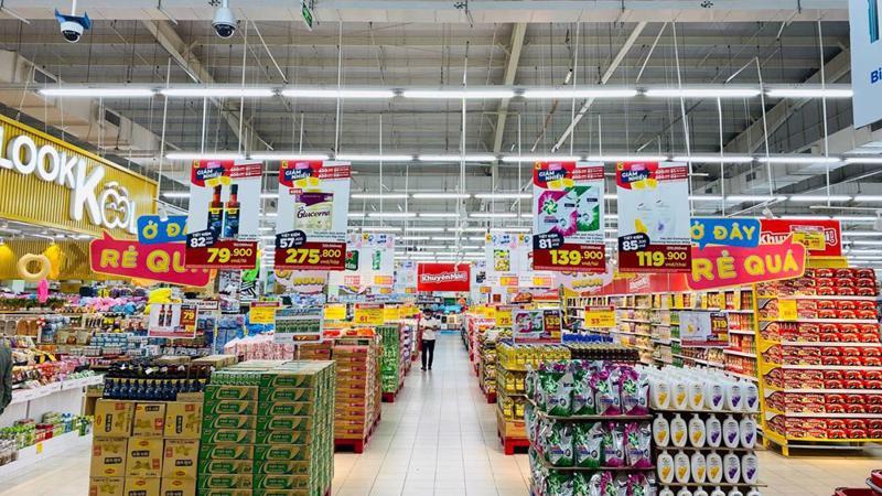 Siêu thị BigC Bắc Giang dự trữ đủ nguồn hàng phục vụ người tiêu dùng.