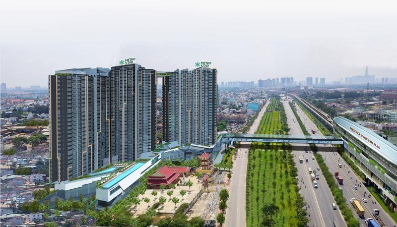 Dự án Metro Star tọa lạc vòng xoay lớn nhất trên Xa lộ Hà Nội - đại lộ đẹp nhất của phía Đông Sài Gòn, và là điểm kết nối với Vành đai 2 qua Phạm Văn Đồng và Mai Chí Thọ.