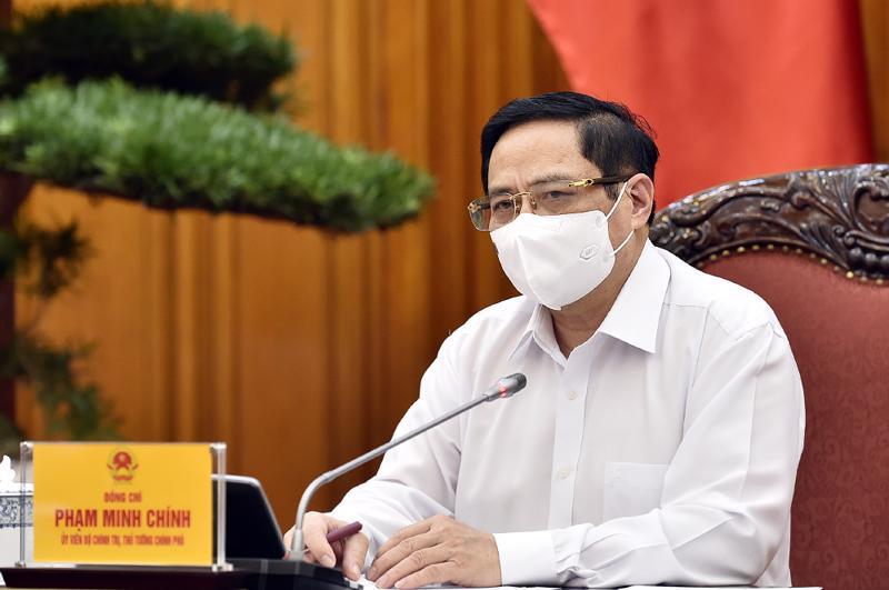 Thủ tướng Phạm Minh Chính chỉ đạo quyết liệt giảm các dự án chưa cần thiết và kém hiệu quả trong kế hoạch đầu tư công giai đoạn 2021-2025 - Ảnh: VGP