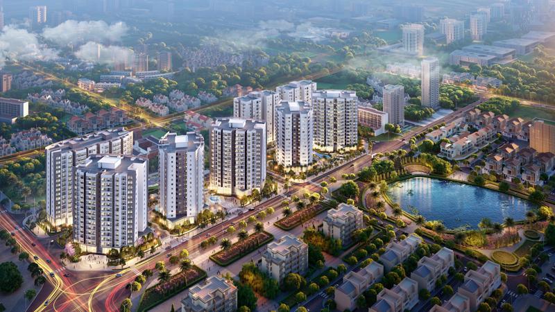 Le Grand Jardin là dự án được phát triển bởi BRGLand.
