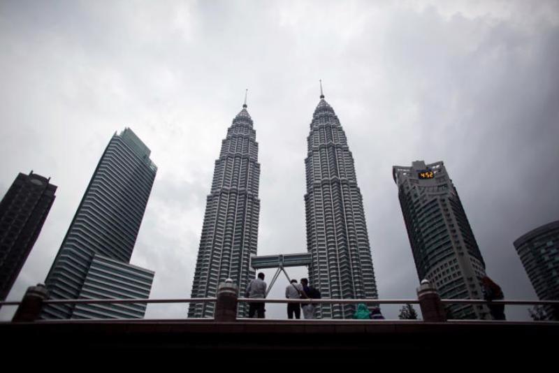 Tháp đôi Petronas ở Malaysia - Ảnh: Bloomberg.