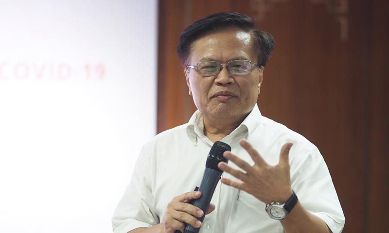 Ông Nguyễn Đình Cung, nguyên Viện trưởng Viện Nghiên cứu quản lý kinh tế Trung ương (CIEM)
