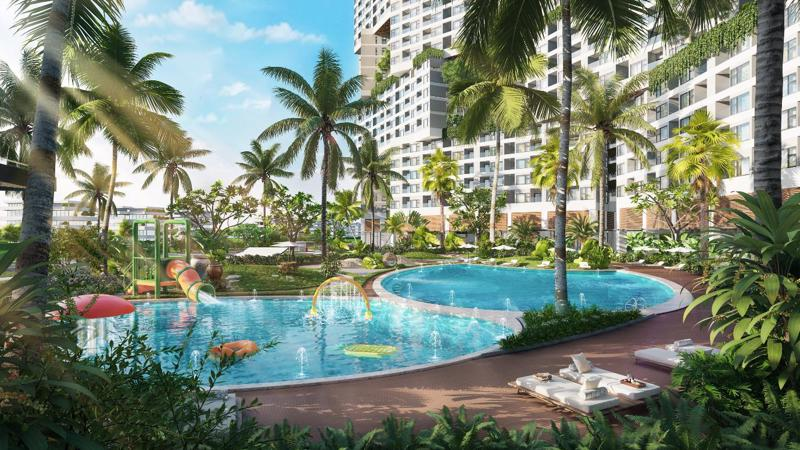 """Được đánh giá như điểm đến hàng đầu tại Bình Thuận - Căn hộ biển Wyndham Coast mang đến cho khách hàng cuộc sống nghỉ dưỡng đậm chất """"xanh""""."""