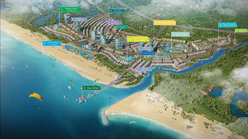 Venezia Beach sở hữu 14 cụm tiện ích lớn với hàng trăm tiện ích tiêu chuẩn quốc tế.