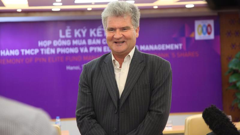 Ông Petri Deryng, người đứng đầu quỹ đầu tư đến từ Phần Lan PYN Elite.