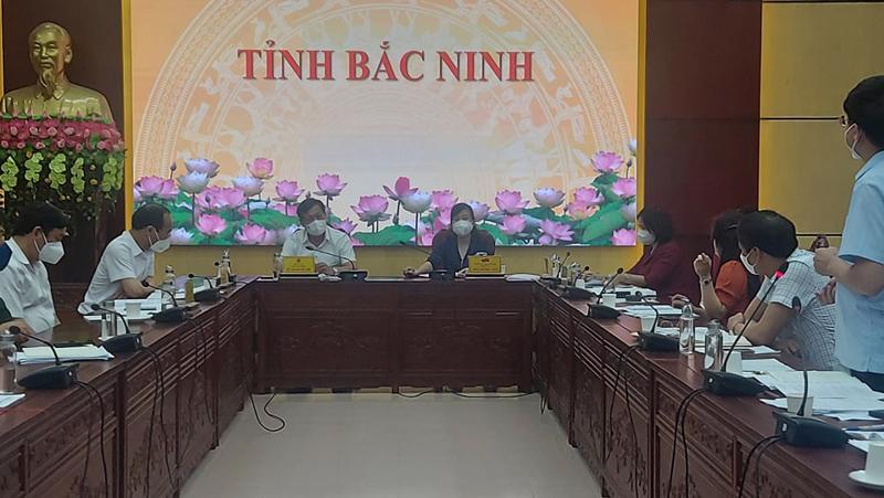 Thứ trưởng Bộ Y tế Đỗ Xuân Tuyên có buổi làm việc với Tỉnh ủy, UBND tỉnh Bắc Ninh.