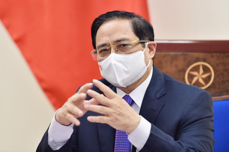 Thủ tướng Chính phủ Phạm Minh Chính - Ảnh: VGP/Nhật Bắc.
