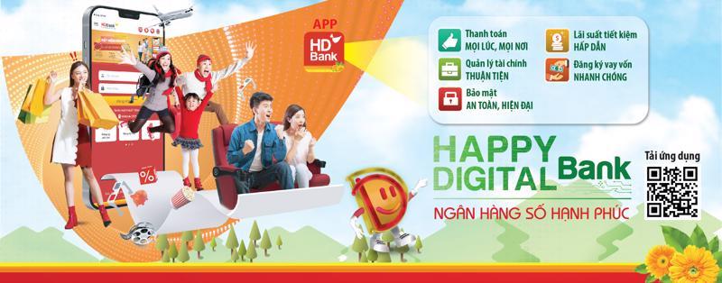 App HDBank được xây dựng trên nền tảng công nghệ hiện đại, an toàn bảo mật cao.