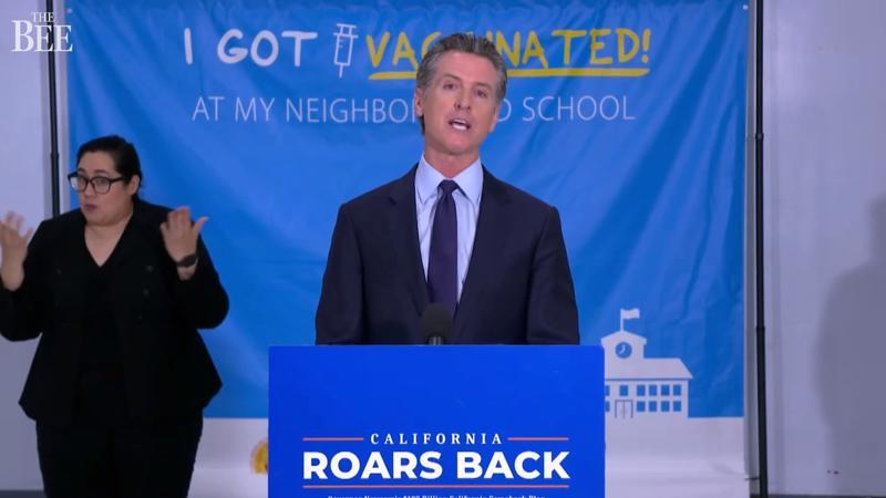 Thống đốc bang California Gavin Newsom - Ảnh: LATimes