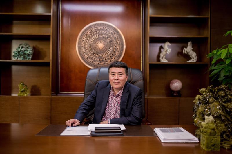 Ông Trương Sỹ Bá, Chủ tịch kiêm Tổng giám đốc Tân Long Group.