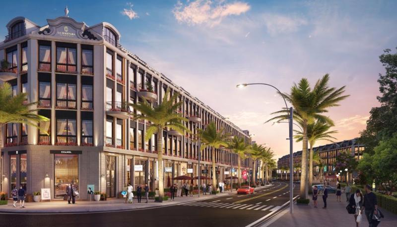 Shoptel La Queenara quy hoạch bài bản, cho giá trị kiến trúc, cảnh quan lâu bền.
