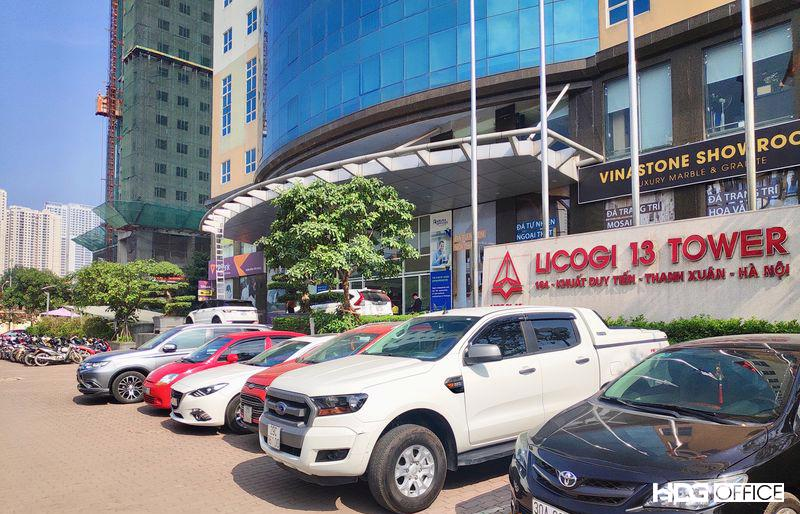 1 tòa nhà của Licogi mà hợp đồng thi công có tranh chấp trong vụ việc này.