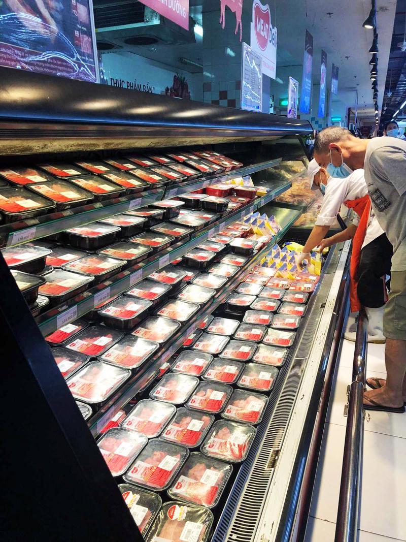 Thịt được đóng gói bằng công nghệ Oxy-Fresh 9 nhằm đảm bảo vệ sinh và lưu giữ tối đa chất dinh dưỡng.