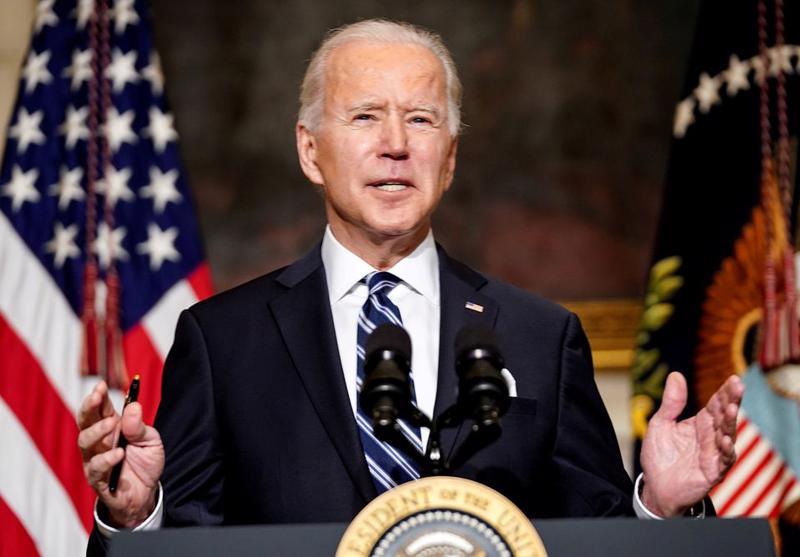 Tổng thống Mỹ Joe Biden - Ảnh: Reuters.