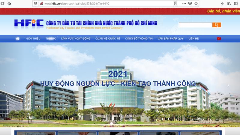Công ty Đầu tư Tài chính Nhà nước TP HCM (HFIC).