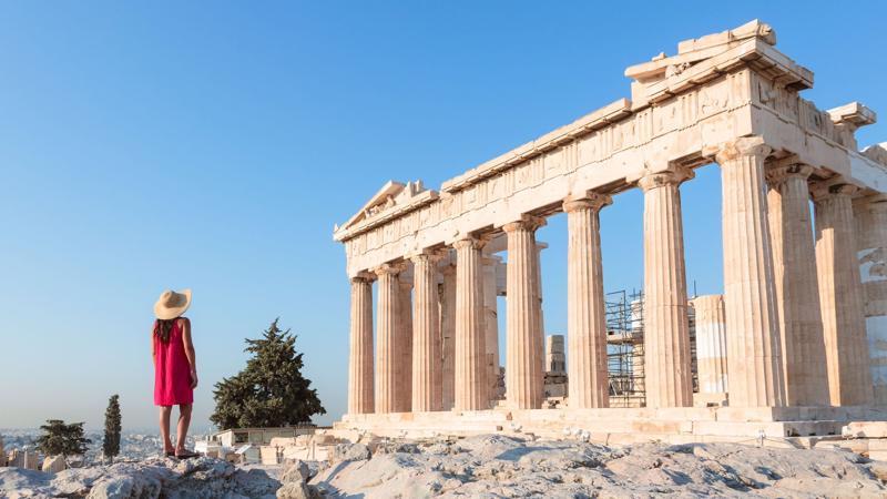 Dù đã mở cửa trở lại, Hy Lạp vẫn áp dụng các biện pháp hạn chế như giới nghiêm vào ban đêm và đóng cửa các nhà hàng - Ảnh: Getty Images
