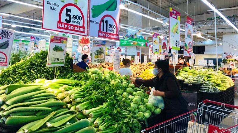 Hỗ trợ đưa nông sản vào hệ thống bán lẻ hiện đại.