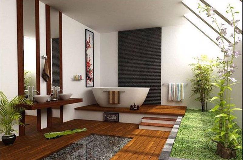 Phần lớn các gia đình trước kia thiết kế nhà tắm đứng, nhưng xu thế năm nay là lắp thêm bồn tắm nằm.