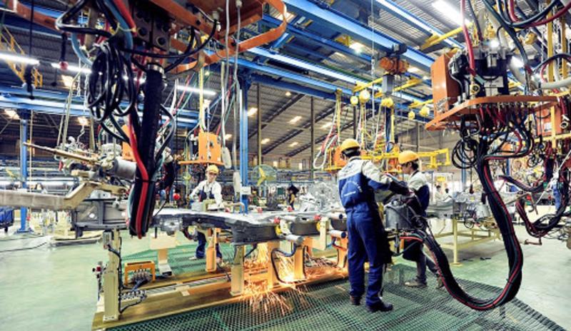 PMI ngành sản xuất Việt Nam giảm 53,1 điểm.