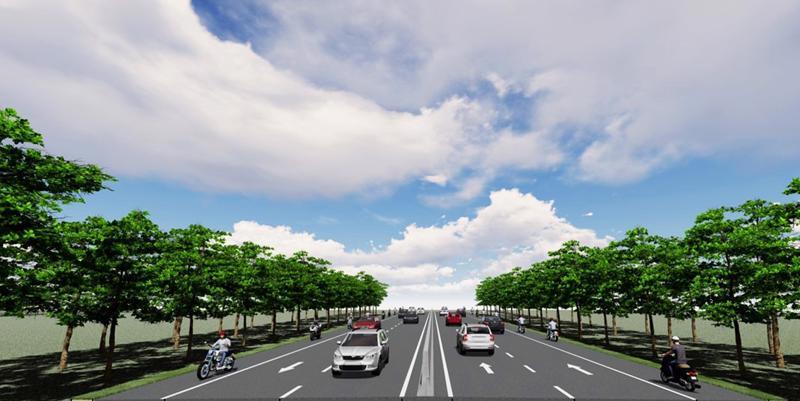 Tuyến đường bộ ven biển trong tương lai kết nối TP.HCM và các tỉnh miền Tây
