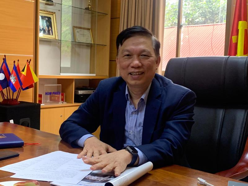 Ông Trần Quý Tường, Cục trưởng Cục Công nghệ Thông tin (Bộ Y tế)