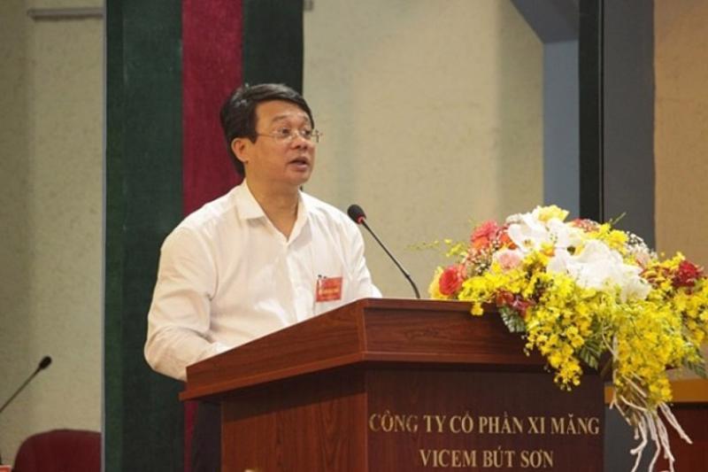 Ông Bùi Hồng Minh, Chủ tịch Hội đồng thành viên Tổng Công ty Xi măng Việt Nam - Ảnh: VOV.