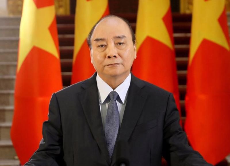 Chủ tịch nước Nguyễn Xuân Phúc - Ảnh: VGP.
