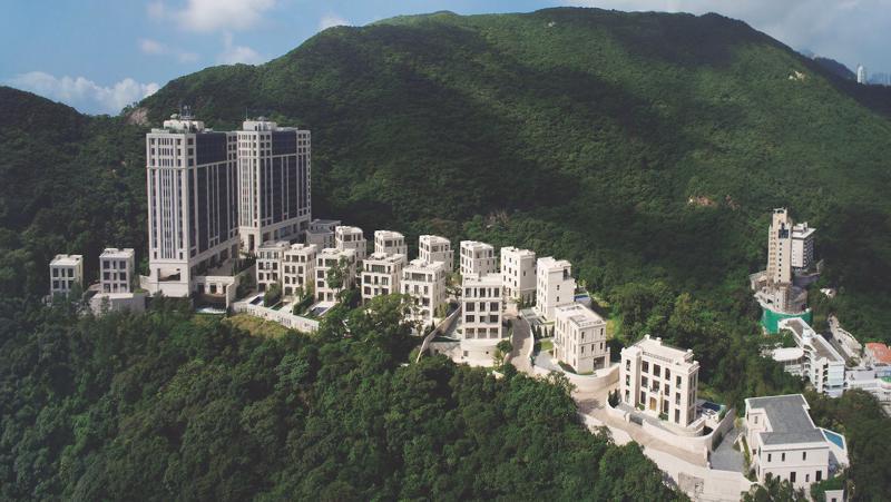 Dự án Mount Nicholson thuộc khu nhà giàu Peak của Hồng Kông.