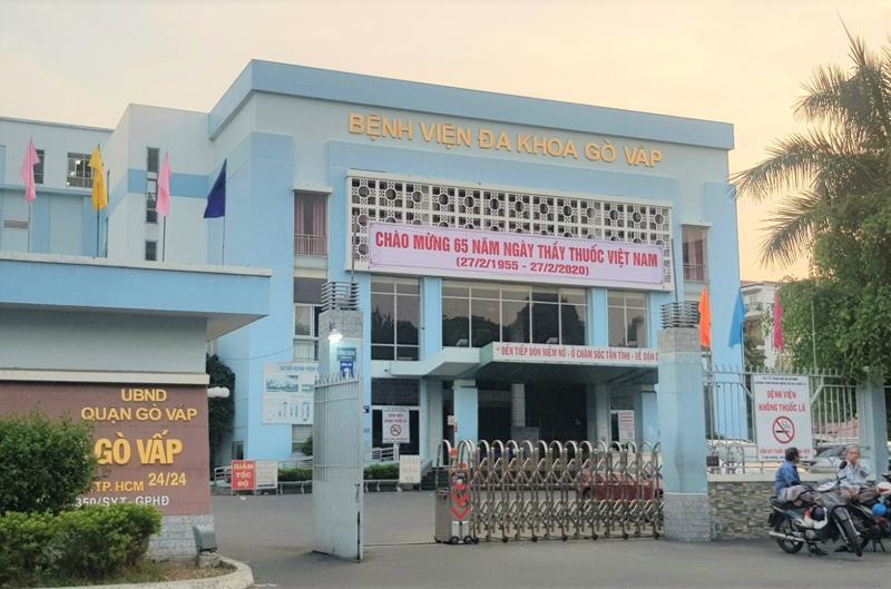 Bệnh viện quận Gò Vấp đang tạm ngưng hoạt động vì có ca F3 thành F0 đến thăm khám.