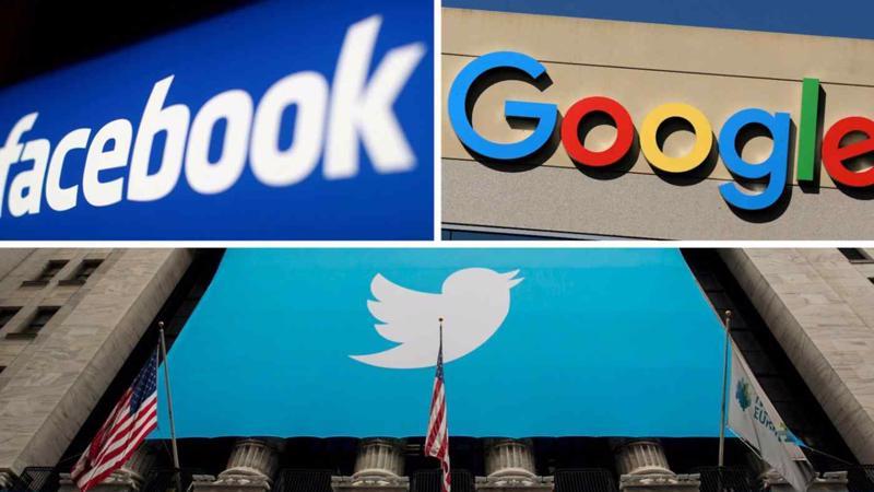 Washington cho rằng thuế dịch vụ số mà một số nước đang áp dụng là hành động thái quá nhằm vào những công ty như Facebook, Amazon - Ảnh: Reuters